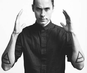 jared leto and 30 seconds to mars image