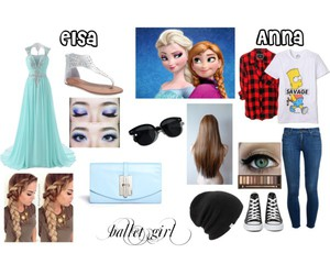 anna, disney, and fancy image
