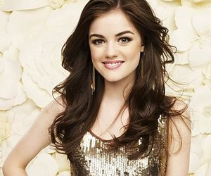 pretty little liars, lucy hale, and aria montgomery image