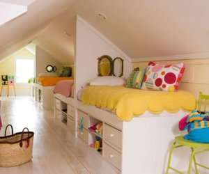 bunk bed, design, and Dream image