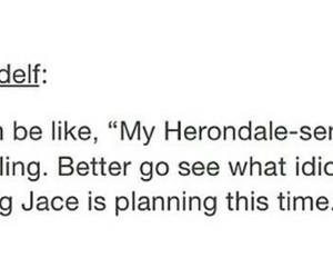 tmi, tid, and jace herondale image