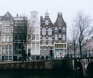 amsterdam, city, and architecture image