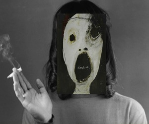 anna karina, cigarette, and black and white image