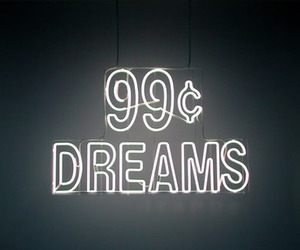 Dream, light, and neon image