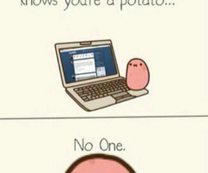 funny and potato image