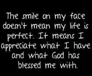 smile, god, and life image