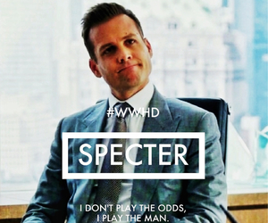 suits, harvey specter, and quote image