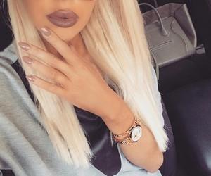 nails, fashion, and lips image