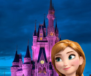 anna, frozen, and night image