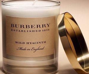 Burberry and candle image