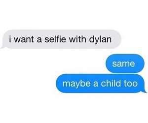 dylan o'brien, funny, and selfie image