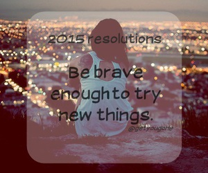 brave, new, and resolution image
