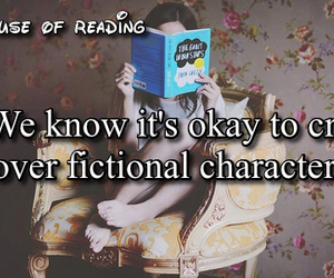 books, tfios, and reading image