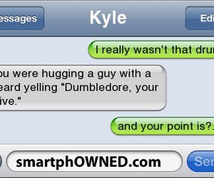 drunk, dumbledore, and funny image