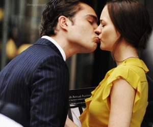 gossip girl, kiss, and love image