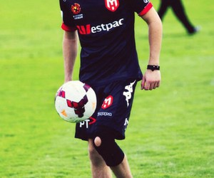 niall horan, one direction, and football image