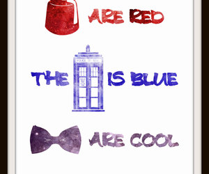 doctor who, fez, and tardis image