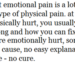 emotional, quote, and text image