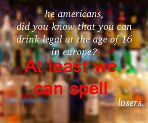 alcohol, drinking, and europe image