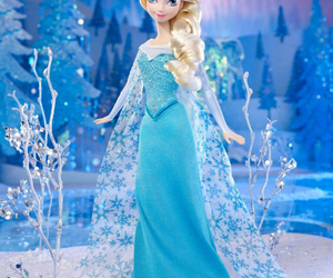 disney, doll, and frozen image