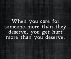 care, hurt, and quotes image