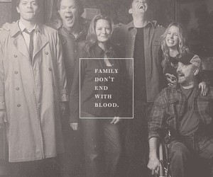 supernatural, family, and castiel image