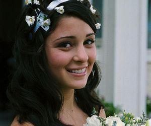 bride, liz, and wedding image