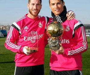 real madrid, Ronaldo, and sergio ramos image