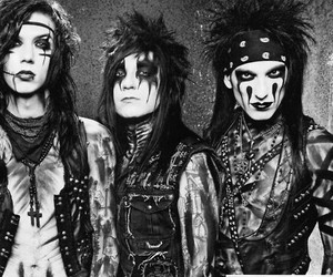 black veil brides, cc, and andy biersack image