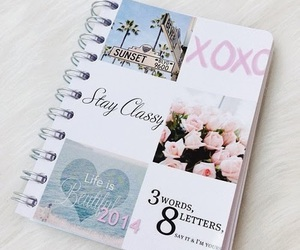 xoxo, book, and notebook image