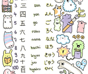 japan, nipon, and numers image
