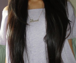 hair, healthy, and long image