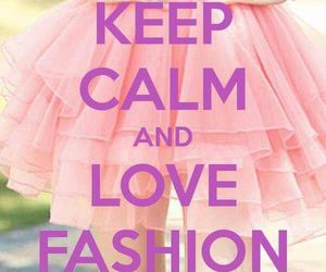 fashion, keep calm, and pink image