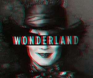 wonderland, alice, and alice in wonderland image