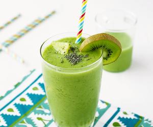 kiwi, smoothie, and drink image