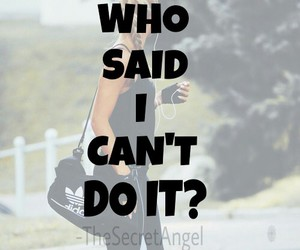 fitness, girly, and Just Do It image