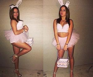 costume, bunny, and girl image