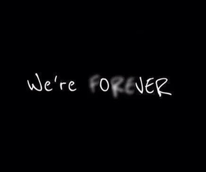 over, forever, and quote image