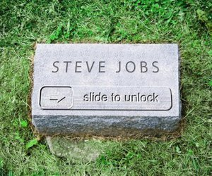 Steve Jobs, apple, and iphone image