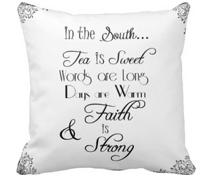 faith, southern, and pillows image