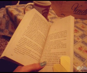 book, cup, and nail image