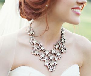 accessories, beautiful, and wedding image