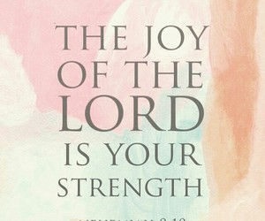 joy, lord, and bible image