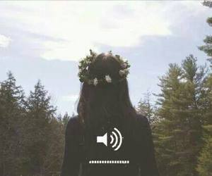 girl, hipster, and music image