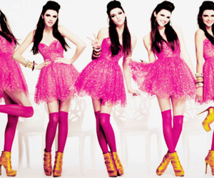 dress, kendall jenner, and pink image