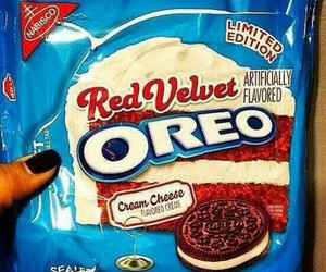 oreo, red velvet, and food image
