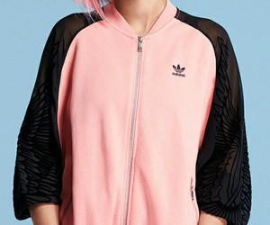 adidas, beautiful, and pink image