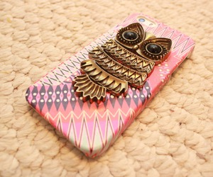 case, owl, and love image