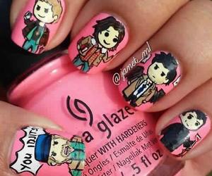 supernatural and nails image