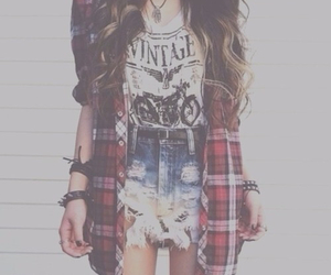 fashion, vintage, and outfit image